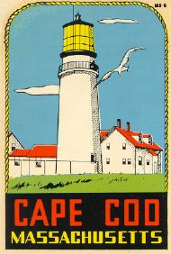 Cape Cod + lighthouse