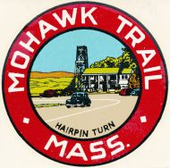 Mohawk Trail, Hairpin Turn
