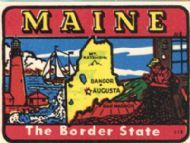 State Map Border State