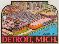 Detroit, Cobo Hall