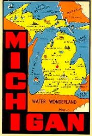 State Map Water Wonderland