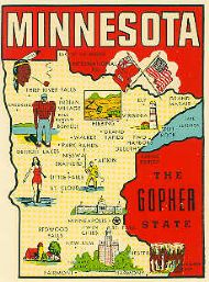 State Map Gopher State