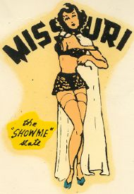 Pinup 'the Show Me State'