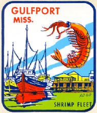 Gulfport, Shrimp Fleet