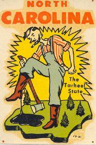 Tarheel State, Lumberjack