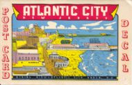 Atlantic City (Postcard decal)