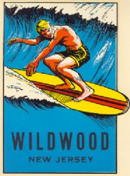 Wildwood, Surfer