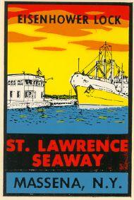 St. Lawrence Seaway, Eisenhower Lock