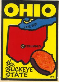 State Map Buckeye State