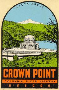 Crown Point, green hills