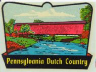 Dutch Country with Covered Bridge