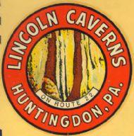 Huntingdon, Lincoln Caverns