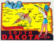 State Map Cowgirl