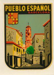 Pueblo Espaňol Barcelona
