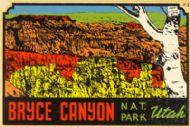 Bryce Canyon NP, landscape