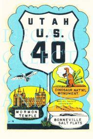 Utah U.S. 40