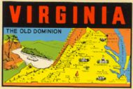 State Map Old Dominion