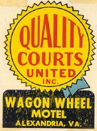 Alexandria, Wagon Wheel Motel