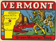 State Map Green Mountain Boys