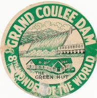 Grand Coulee Dam Green Hut Café