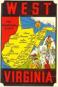 State Map Mountain State
