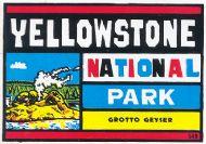 Yellowstone National Park, Grotto Geyser
