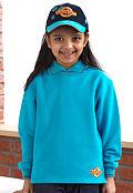 Beaver Purple Trim Sweatshirt