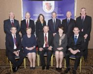 National Executive Committee with Minister Fitzgerald & Commissioner O'Sullivan