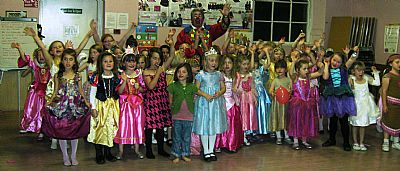 rainbow centenary princess party