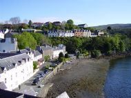 Portree Harbour Front from