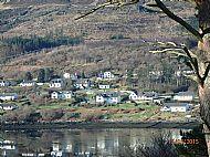 Heronfield from The Lump Across Loch Portrre