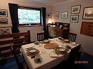 The Intimate Dining Room at Heronfield