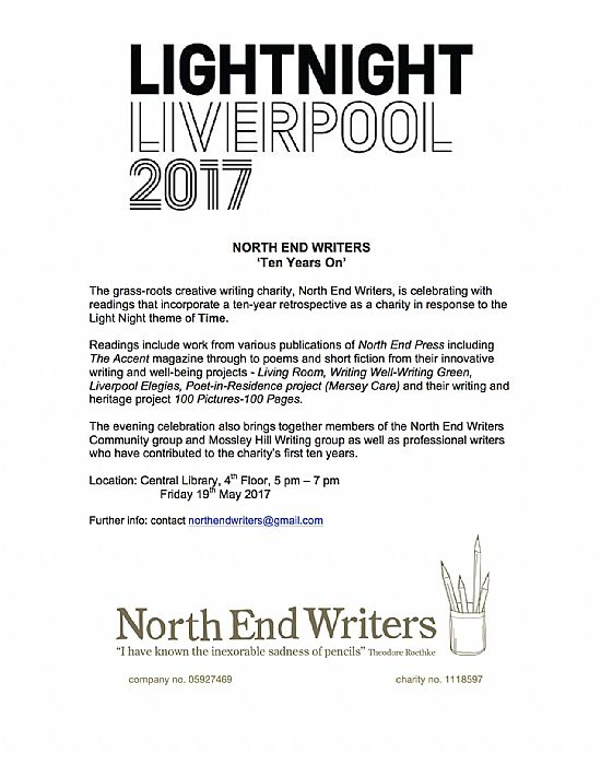 light night 2017 readings at central library