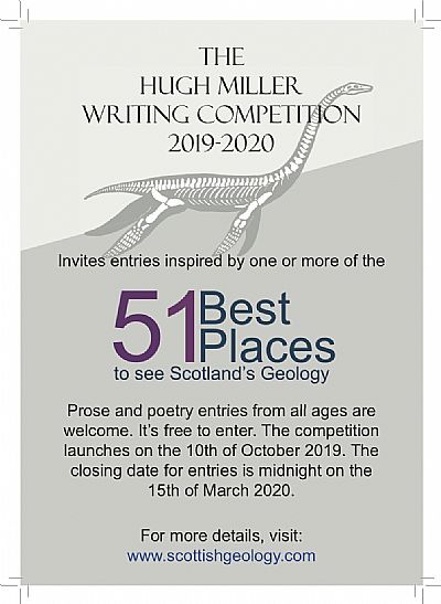 poster for hugh miller writing competition