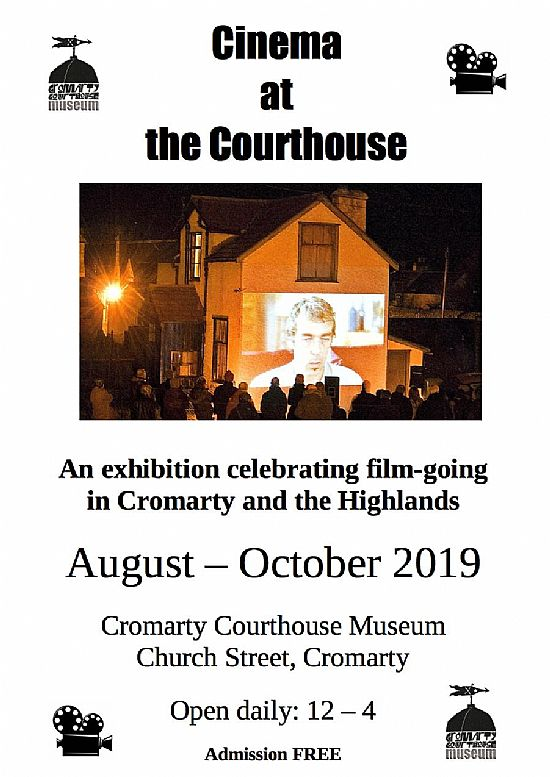 poster for cinema at the courthouse