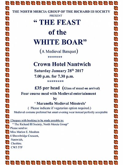 feast of the white boar