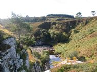 Dunbeath Strath gorge. ( Photo by Roy Blackburn)