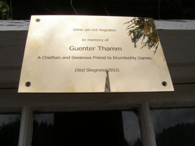 guenter thamm plaque by george mcgillivray