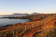 Gillean Bay, Tarskavaig on a December afternoon