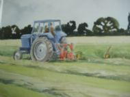 Leyland 245 c/w cutter mower