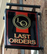 Last Orders, Whitchurch.