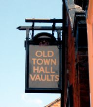 Old Town Hall Vaults, Whitchurch.
