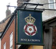 Rose & Crown.