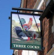 Three Cocks
