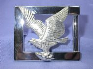 Sterling Silver Osprey Belt Buckle
