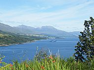 Lochcarron, one of the great lochs of Scotland