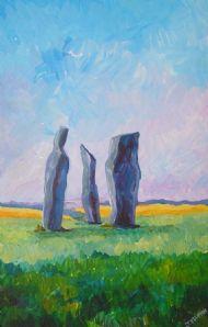Standing stones Fife