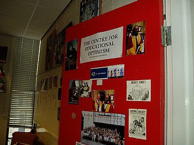 enter our center for educational optimism