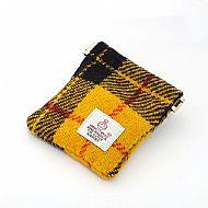 Harris tweed flextop purse Macleod tartan