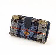 Harris tweed large purse Mackenzie tartan